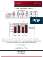 Newtown,CT Home Sales Report March 2011 by Higgins Group Real Estate