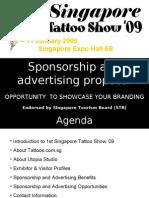 Singapore Tattoo Show 2009 Sponsorship Options 08 aug-08
