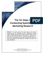 7 Stepd of Marketing Research Process