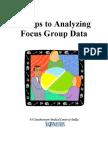 Analyzing Foucs Group Data