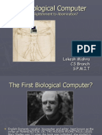 Biological Computer Ppt