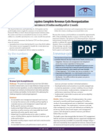 Financial Turnaround Requires Complete Revenue Cycle Reorganization
