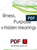 Personal Thoughts on Illness Purpose & Hidden Meaning