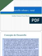 3.5 Desarrollo Urbano y Rural