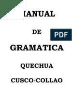 Manual Gramatica Quechua