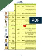 Tabela de Preco 2011 - Display