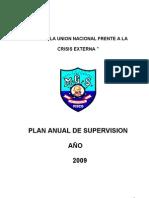 Plan Anual de Supervision Educativa Miguel Grau 2009