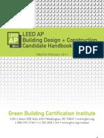 LEED AP BD C Candidate Handbook