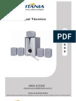 Manual Tecnico Home Theater Britania Ht6000