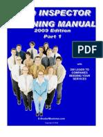 Field Inspection Manual I