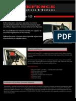 Armored 105 Land Cruiser DPV