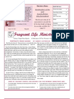 Calvary Chapel Reno-Sparks Women's Newsletter May-June 2011