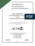 ASP Team Member Manual 08 09