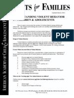 5violent Behavior