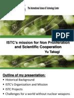Presentation ISTC Introduction 1 -1