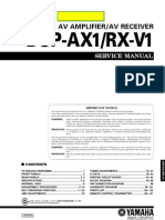 Yamaha Factory Service Manual DPS-AX1_RX-V1