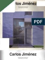 Catalogos de arquitectura contemporánea - Carlos Jiménez