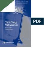 Civil Gang Injunctions Guide