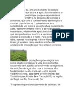 Agricultura e alimentação