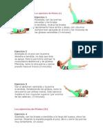 Los Ejercicios de Pilates