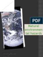 Natural environment hazards