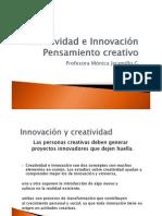 Creatividad e Innovación pensamiento creativo