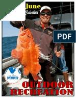 Outdoor Recreation Calendar May/June 2011