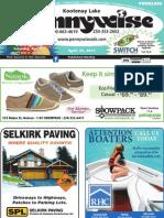 Kootenay Lake Pennywise April 26 Edition
