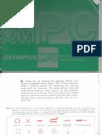 Olympus OMPC Camera, owner's manual