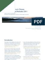 Trends in America's Climate & Environmental Attitudes 2011