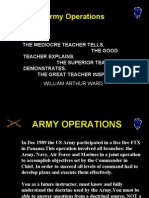 071F1082 Intro to Operations & Principle of War