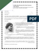 (2) Helen Keller
