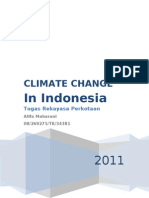 Climate Change in Indonesia