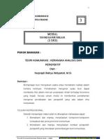 KERANAGKA ANALISIS &PRESPEKTIF