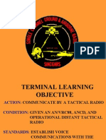 071F1717 Communicate by Tactical Radio