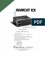 Bearcat 101 (Manual)