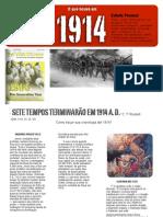 O que aconteceu em 1914?