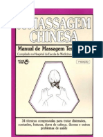 A Massagem Chinesa - Manual de Massagem Terapêutica