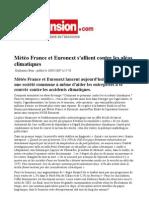 L'Expansion - UBS Global Warming Index - Ilija Murisic - May 07