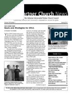 UUPCC Newsletter - Spring 2011
