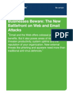 Businesses Beware the New Battlefront on Web and Email