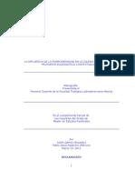 Monografías final Eclesiologia 19 marzo