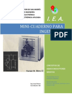 Mini-cuaderno Para Ingenieros - Circuitos Semi Conduct Ores Basicos