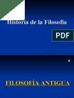 Cronología historia de la filosofía
