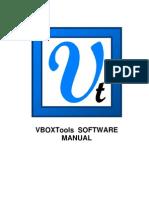 VBOXTools Software Manual - English