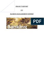 Project Report_Banking Management System