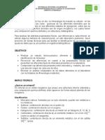 Lab Oratorio Caracterizacion de Menas