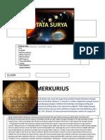 Geografi - Tata Surya - 1