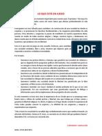 Manifiesto Consulta Popular Ecuador