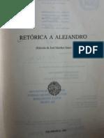 Retórica a Alejandro